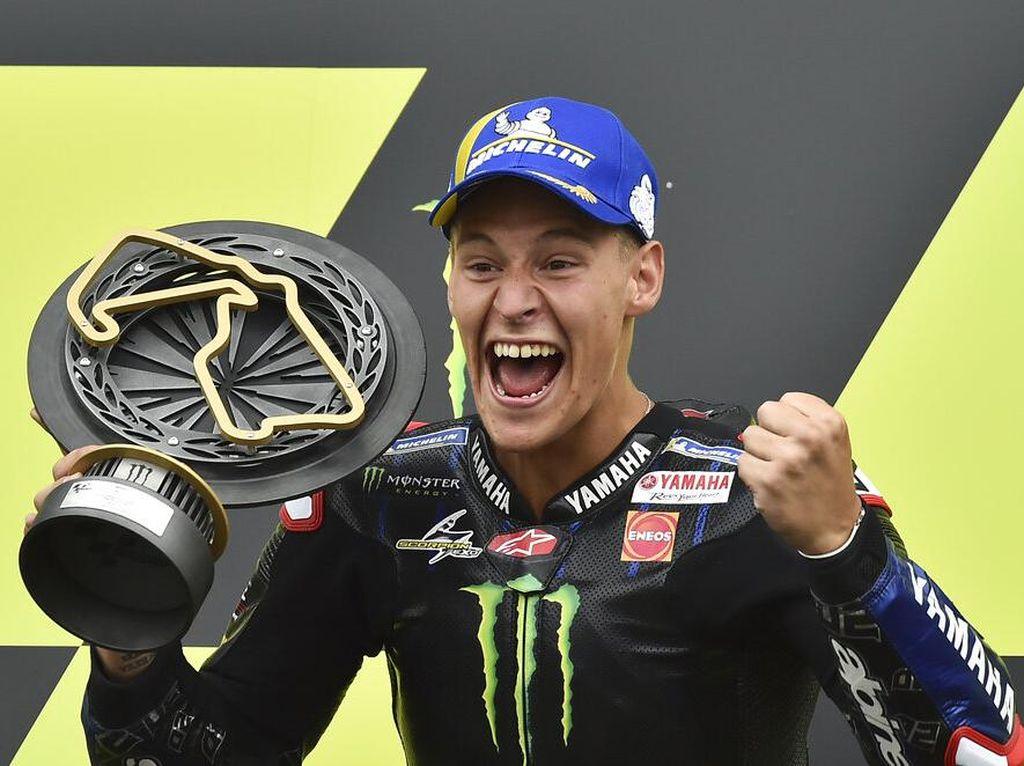 Quartararo Juara MotoGP Inggris