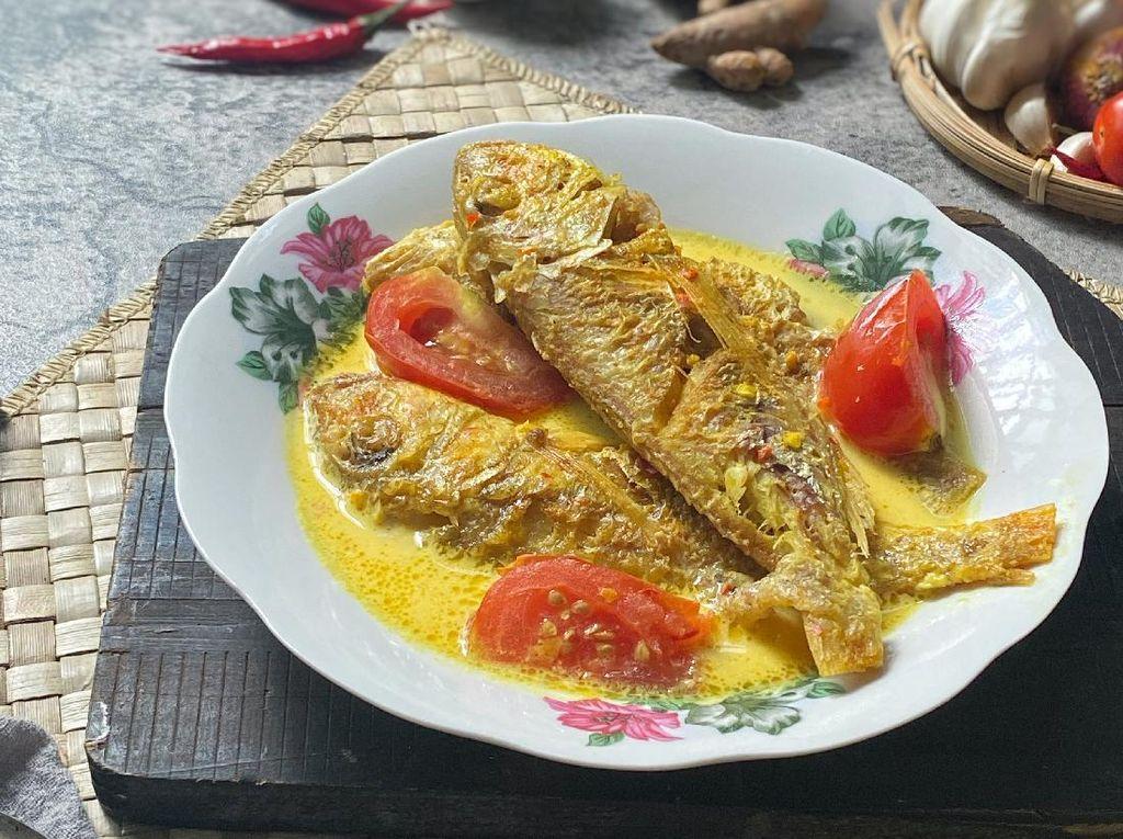 Resep Ikan Kuah Kuning yang Berbumbu Sedap untuk Lauk Makan Siang