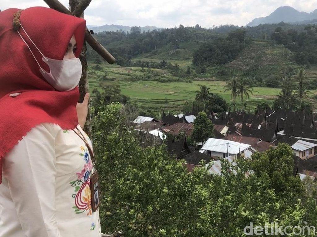 Foto Cantiknya Desa Wisata Sarugo yang Dikunjungi Sandiaga Uno