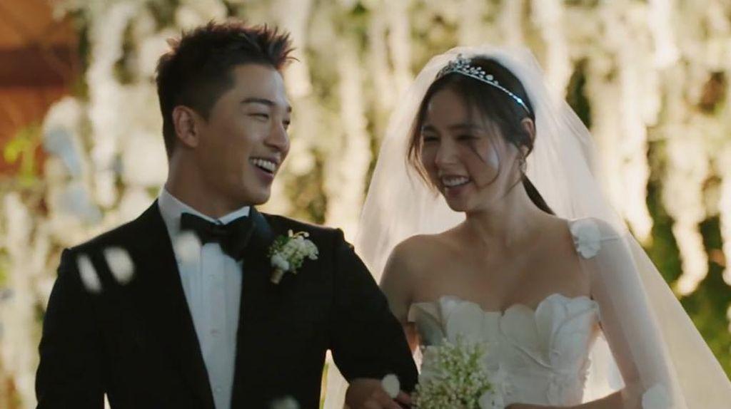 Potret Mesra Taeyang BIGBANG dan Min Hyo Rin Sejak Pacaran hingga Menikah