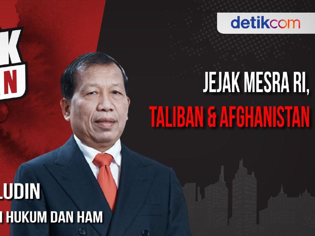 Blak-blakan Hamid Awaludin: Jusuf Kalla di Antara Taliban-Afghanistan
