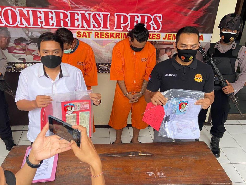 Palsukan Surat Corona Penumpang, 2 Sopir Travel di Bali Ditangkap