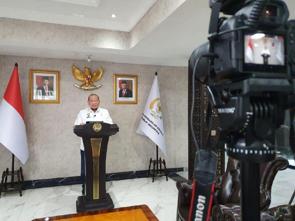 Ketua DPD Bicara Pentingnya Nasionalisme ke Mahasiswa Baru Unitomo