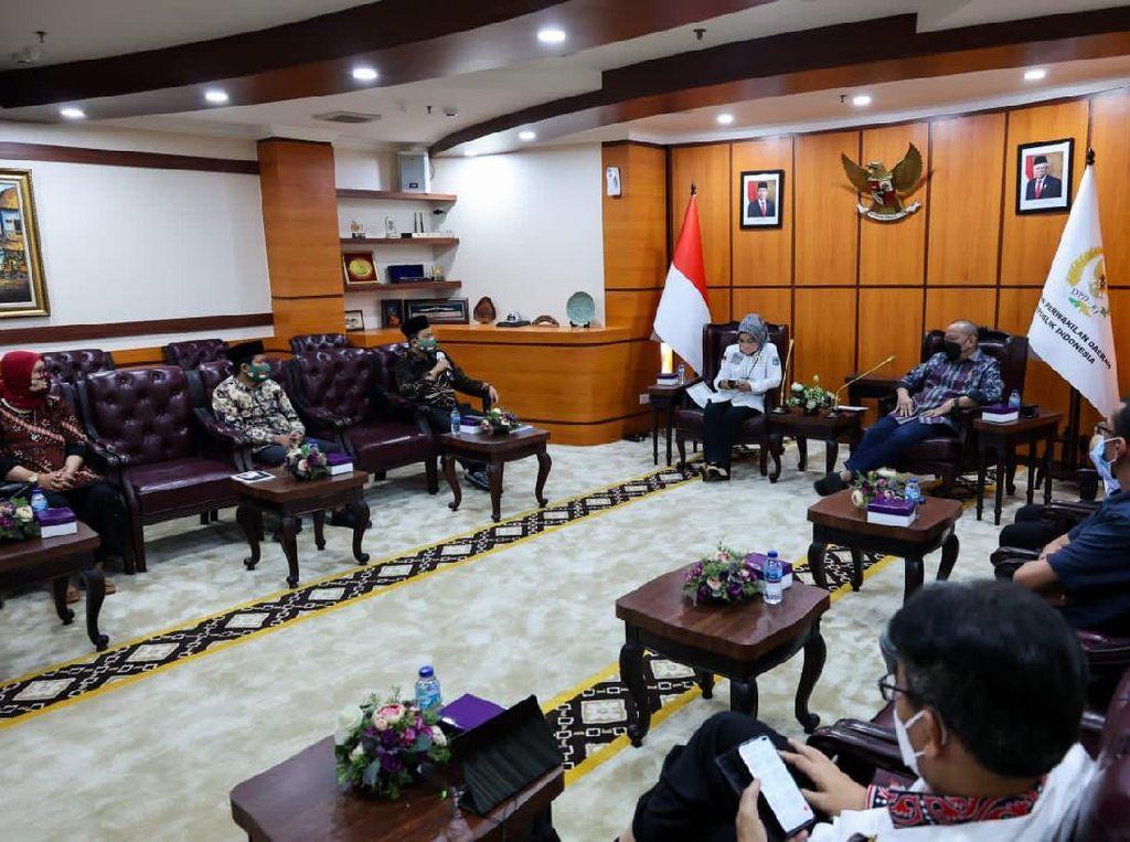 Ketua DPD Audiensi dengan Keluarga Besar Tamansiswa, Ini yang Dibahas