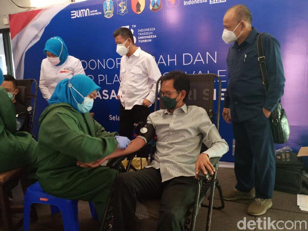 Ketua DPRD Surabaya Berharap Banyak Penyintas Donor Plasma Konvalesen