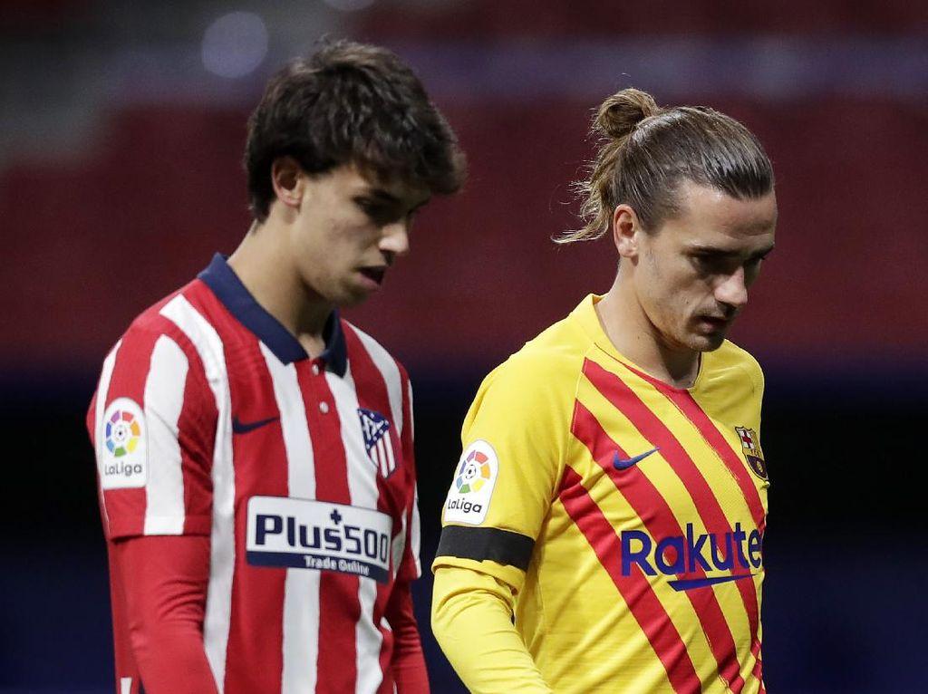Rumor Transfer: Atletico dan Barca Negosiasi Tukaran Felix-Griezmann