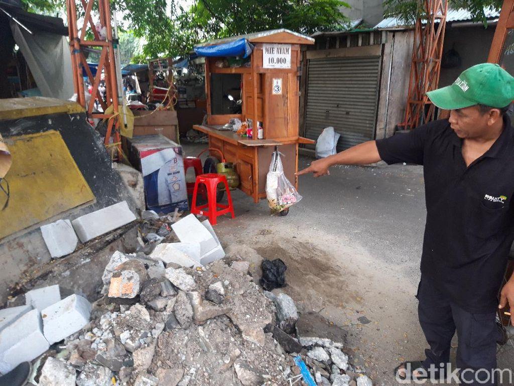 Saksi Ungkap Detik-detik Mobil Dinas TNI Tabrak PKL di Jaktim