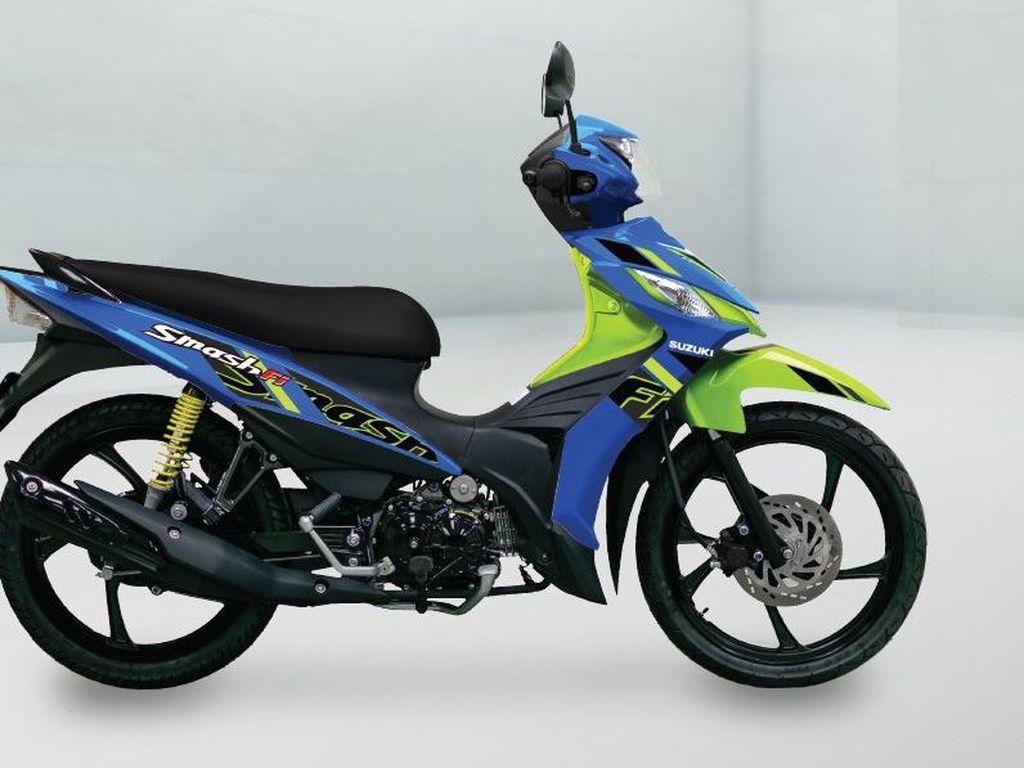 Masih Ingat Suzuki Smash? Model Terbarunya Meluncur di Thailand