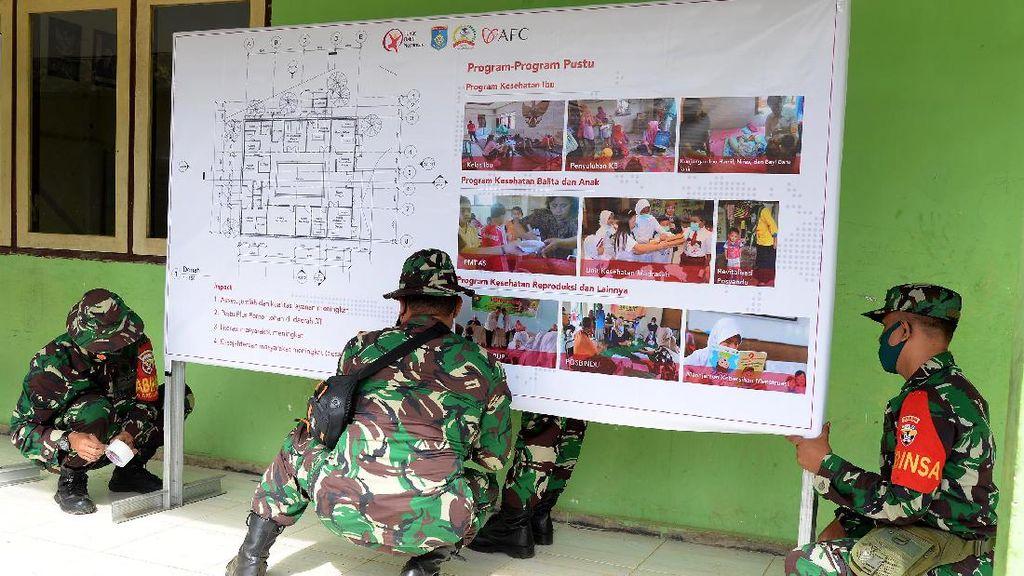 Pembangunan Sarana Kesehatan di Desa Terpencil