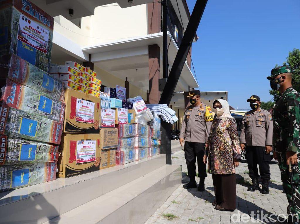 182 Kampung Tangguh Semeru di Jombang Dapat Bantuan Sarana dan Prasarana