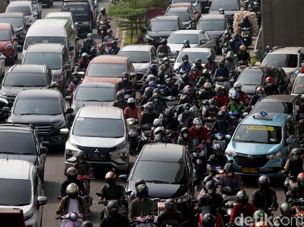 Jakarta Urutan ke-3 Kota Paling Bikin Stres Berkendara di Dunia