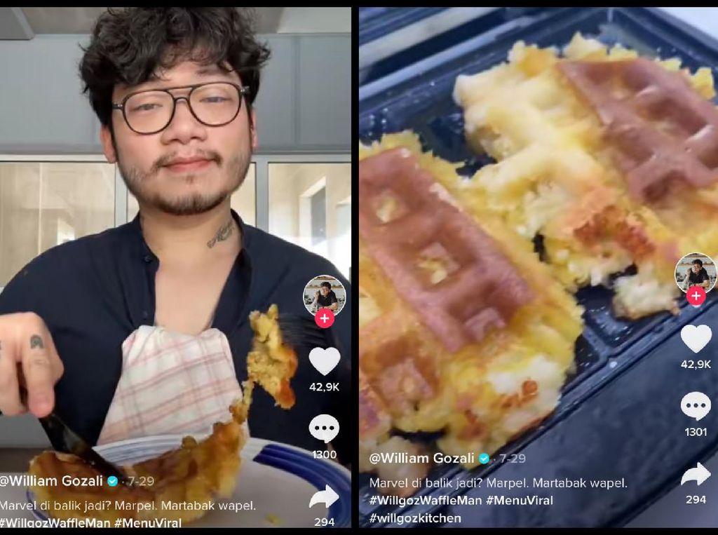 William Gozali Sulap 5 Makanan Tradisional Ini Jadi Waffle, Hasilnya Wow!