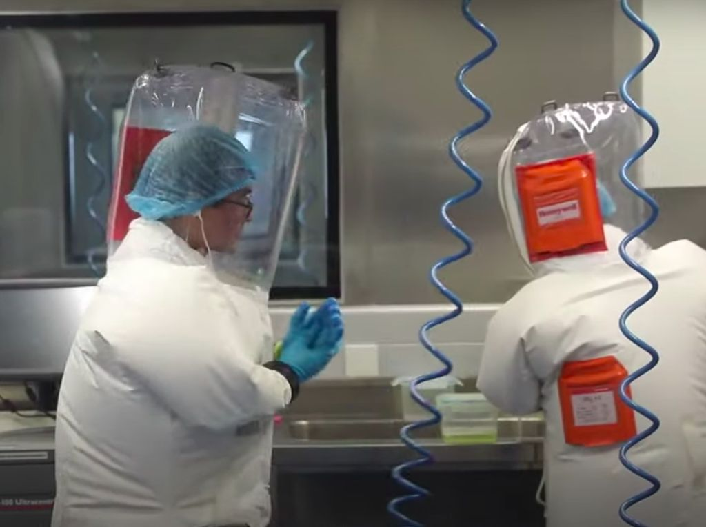 Geger Amerika Danai Riset Virus Corona di Lab Wuhan