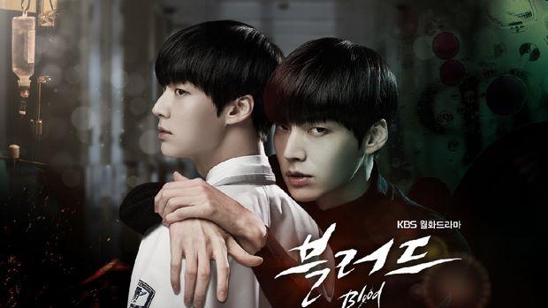 Ahn Jae Hyun sebagai vampir dalam drama Blood