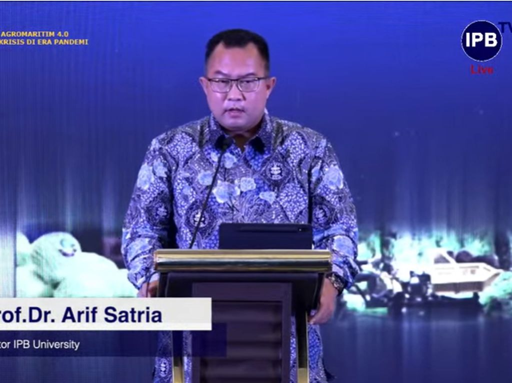Rektor IPB Jelaskan Pentingnya Agromaritim 4.0 sebagai Fokus Pembangunan