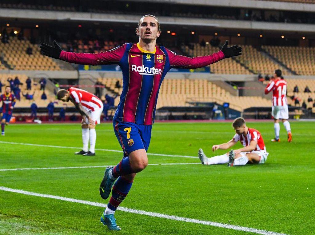 Transfer Kejutan! Griezmann Pulang ke Atletico Madrid
