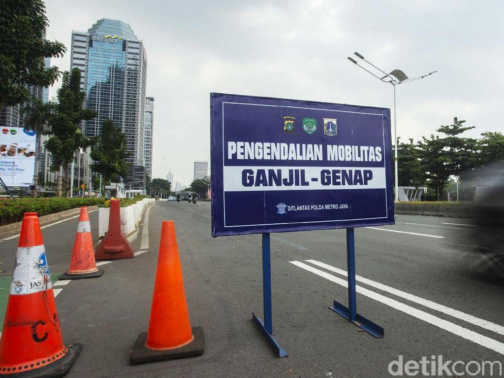 Sabtu-Minggu Ganjil Genap di Jakarta Tetap Berlaku, ini Lokasi dan Jadwalnya
