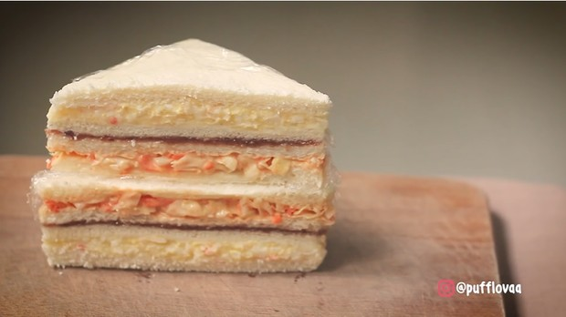 Inkigayo sandwich, roti lapis ala Korea | Foto : Youtube/Pufflova