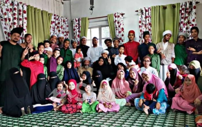 Keluarga yang memiliki 24 anak
