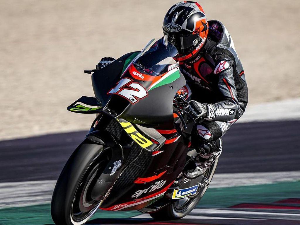 Resmi! Vinales Jalani Debut Bersama Aprilia di MotoGP Aragon