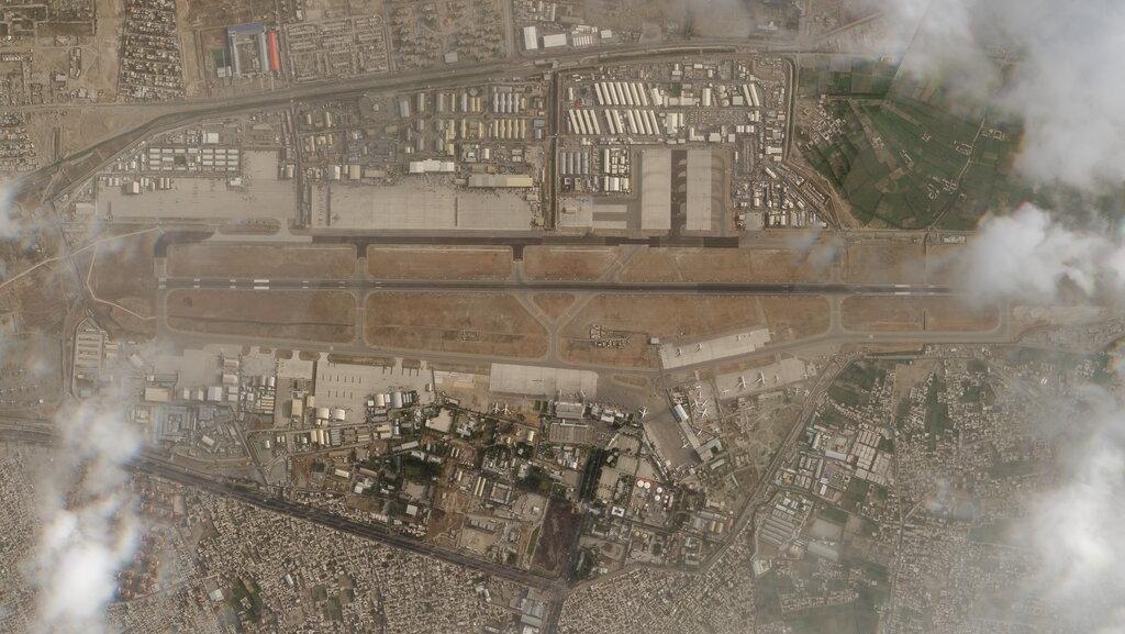 Pasukan AS Pergi, Begini Kondisi Bandara Kabul dari Satelit