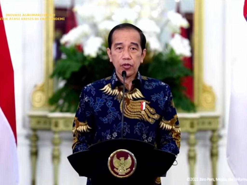 Banyak Tantangan di Sektor Pertanian, Jokowi Ingatkan Perguruan Tinggi Lakukan Inovasi