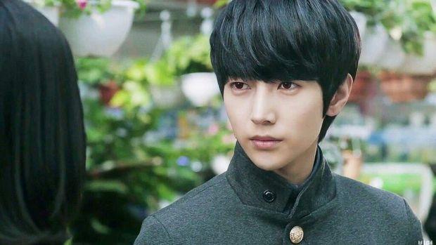 Seo Jae Hyung sebagai vampir dalam drama Vampire Flower