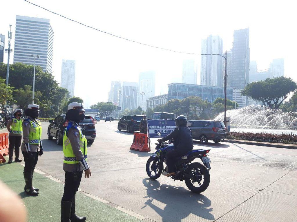 Ribuan Kendaraan Kena Tilang Saat Operasi Patuh Jaya di Tangsel