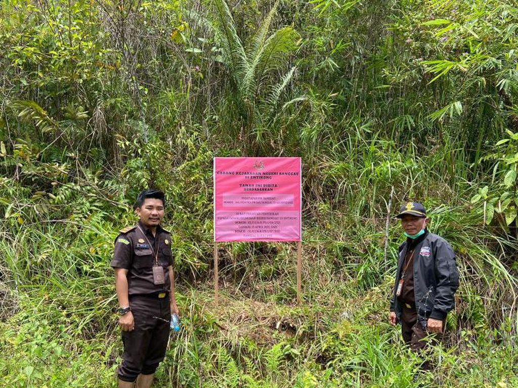 Eks Kades di Kalbar Tersangka Korupsi APBDes, 3 Bidang Tanah Disita Kejari