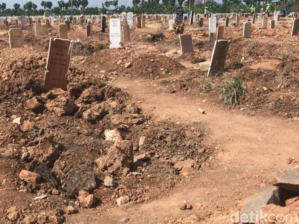 Kala Makam di Rorotan Ambles Dianggap Lumrah Pemprov DKI
