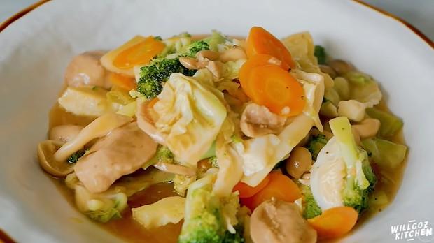 Tumis capcay yang sehat, murah dan praktis | Foto : Youtube/Willgoz Kitchen