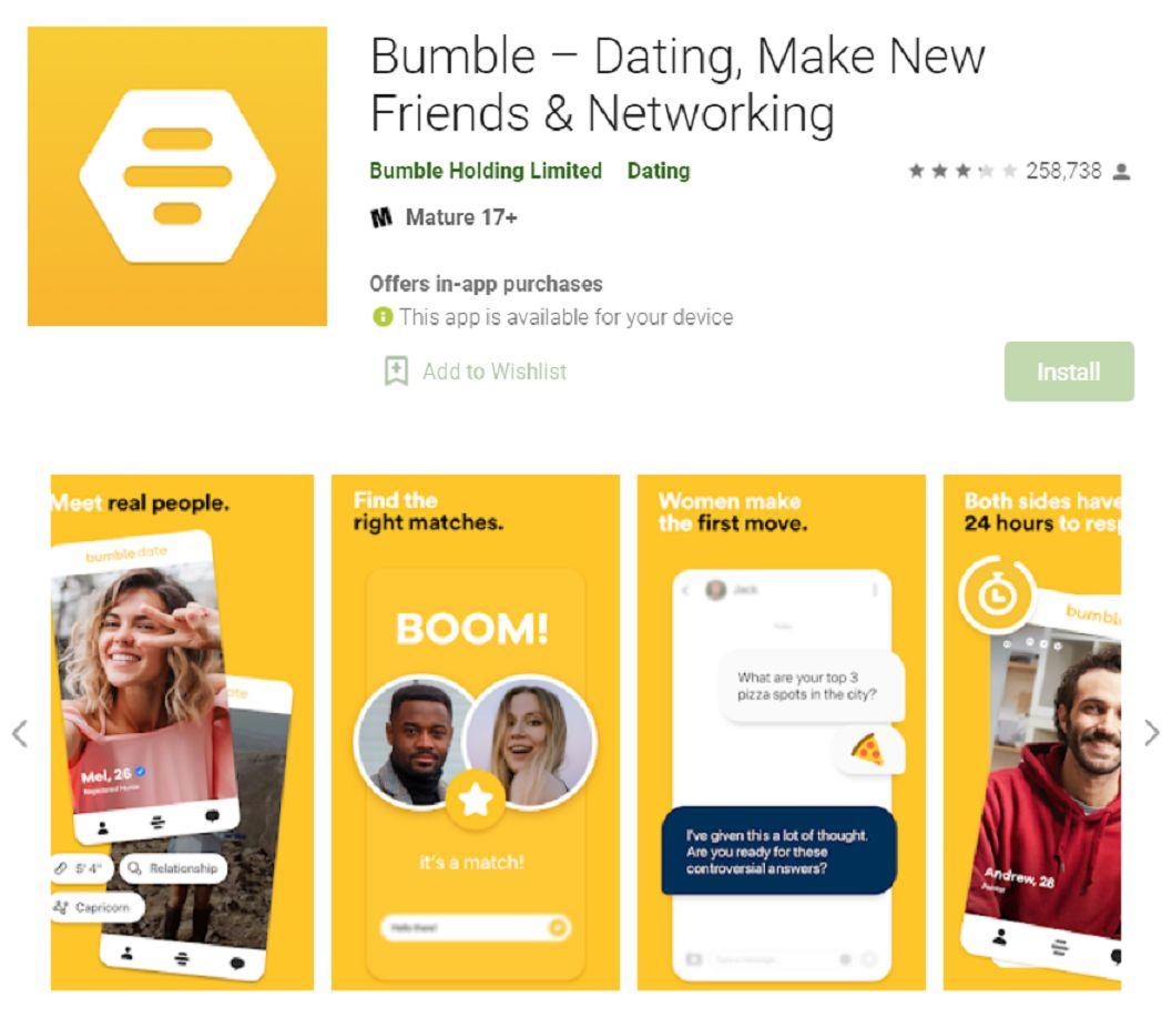 Aplikasi Kencan, Bumble