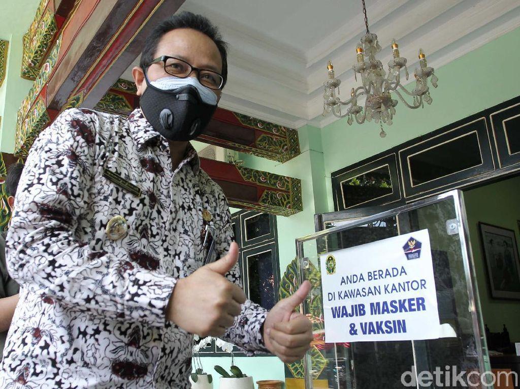 Balkot Yogyakarta Terapkan Wajib Masker dan Vaksin