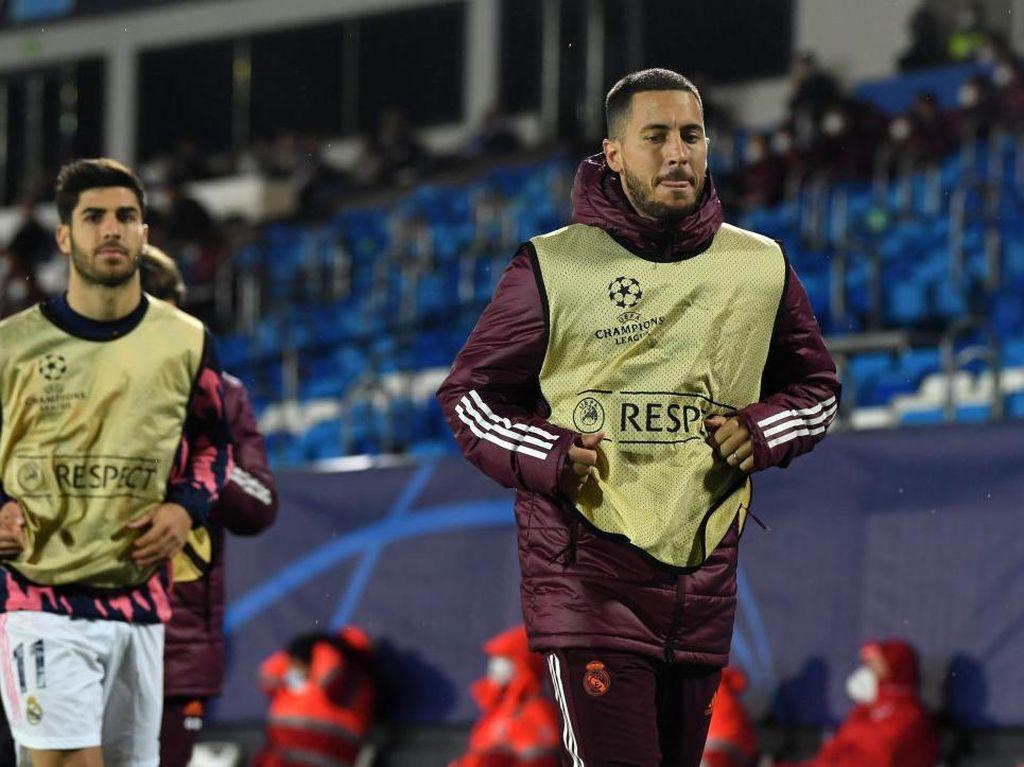 Ancelotti: Sulit Menurunkan Hazard di Dua Laga Beruntun