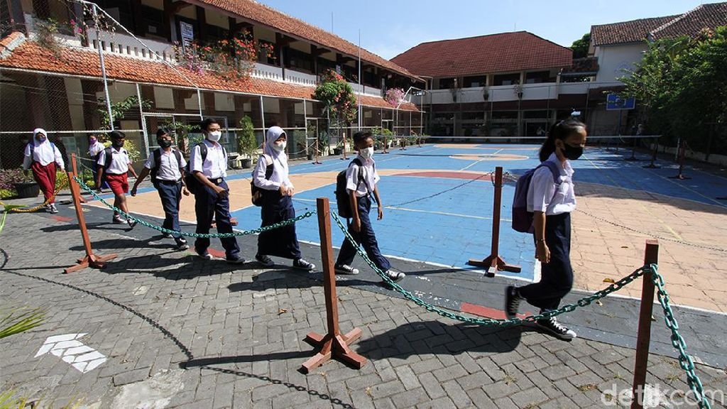 Gelar PTM, Sekolah di Solo Terapkan Prokes Ketat