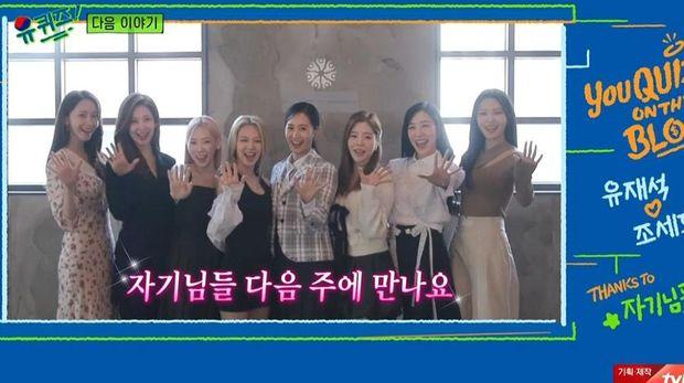 Comeback Girls' Generation dalam sebuah TV show