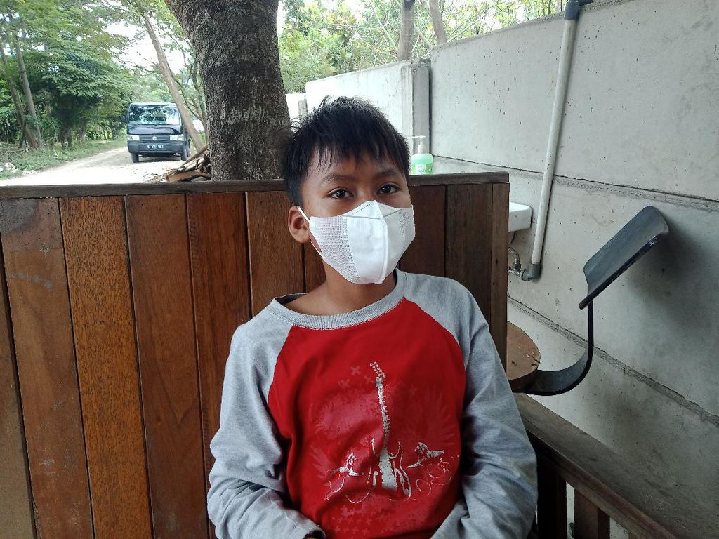 Kisah Putra Anak Asuh Ashanty, Korban Kebakaran Lapak Pemulung di Tangsel