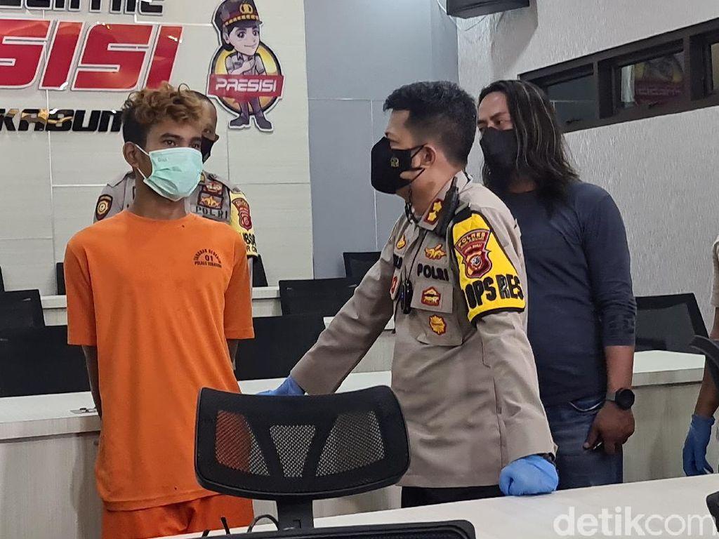 Ditusuk 13 Kali, Begini Kronologi Tukang Ojek Dibegal di Sukabumi