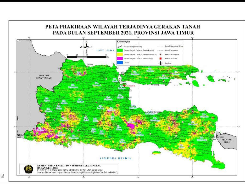 14 Kecamatan di Bojonegoro Berpotensi Alami Pergerakan Tanah