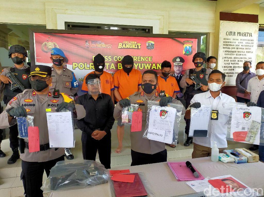 Tiga Pembuat Surat Swab Antigen Palsu di Banyuwangi Ditangkap, Satu DPO