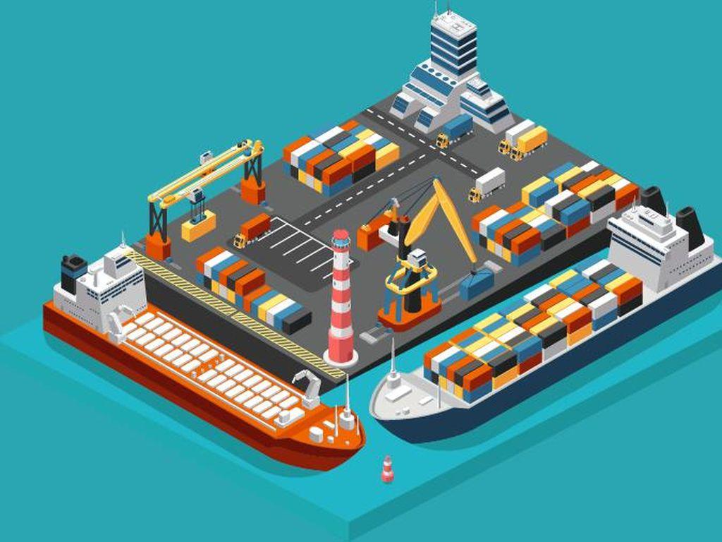 Mimpi Besar RI Pangkas Biaya Logistik