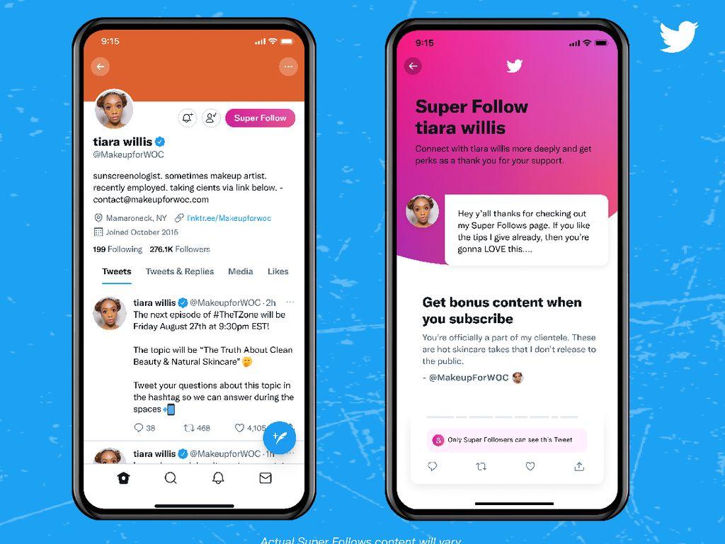 Twitter Luncurkan Super Follows, Sumber Cuan Baru Bagi Kreator