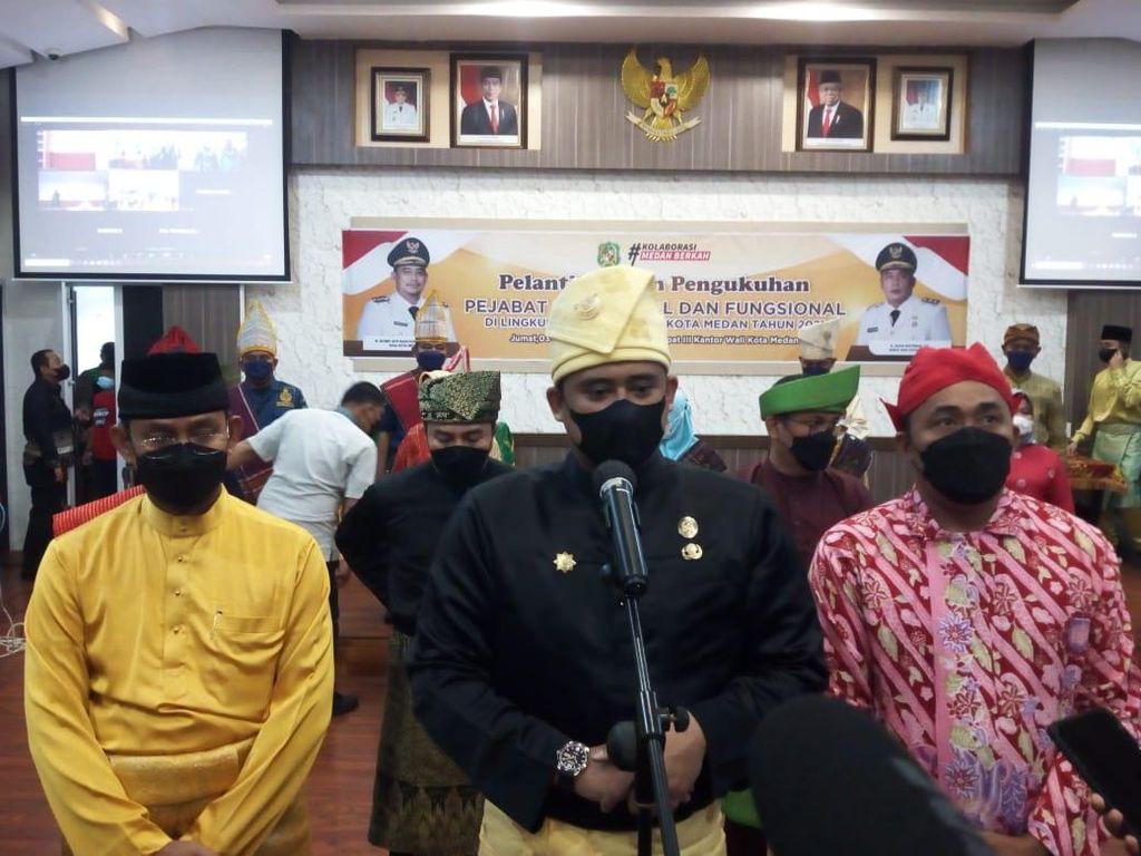 Bobby Nasution Wajibkan ASN Pemko Medan Pakai Baju Adat Tiap Jumat