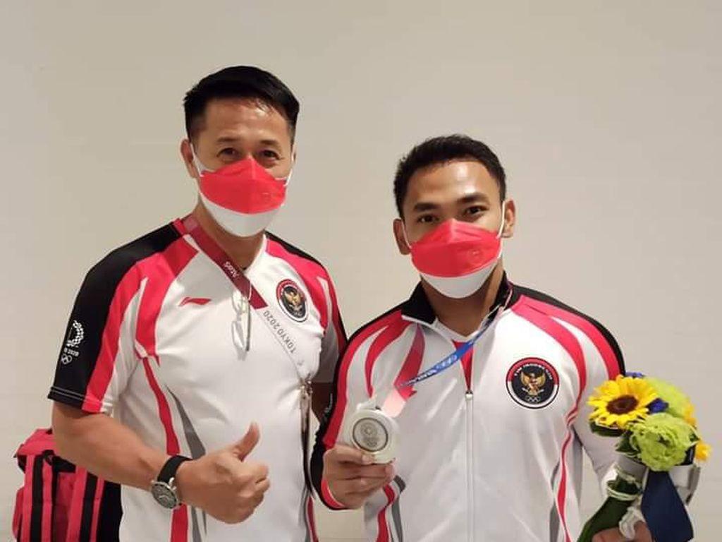 Pelatih Eko Yuli Terkesan Pelayanan NOC Indonesia di Olimpiade Tokyo 2020
