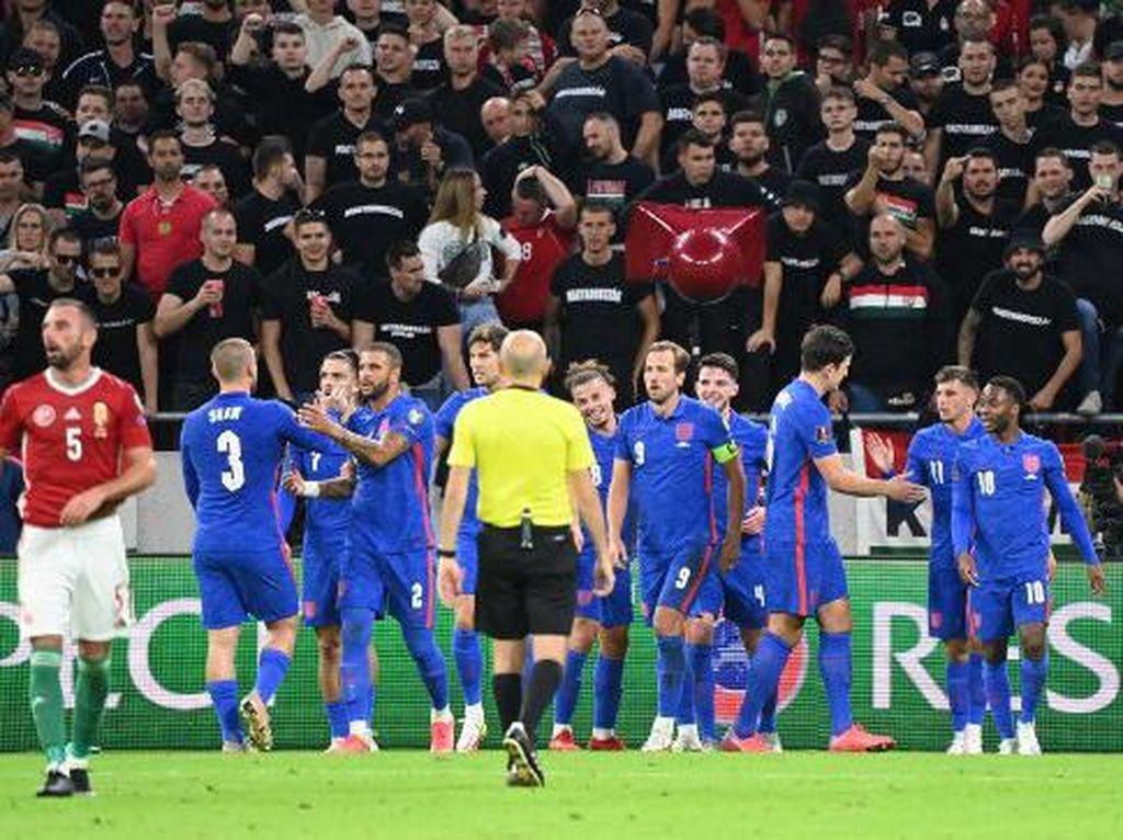 Hungaria Vs Inggris: Tiga Singa Menang Meyakinkan 4-0