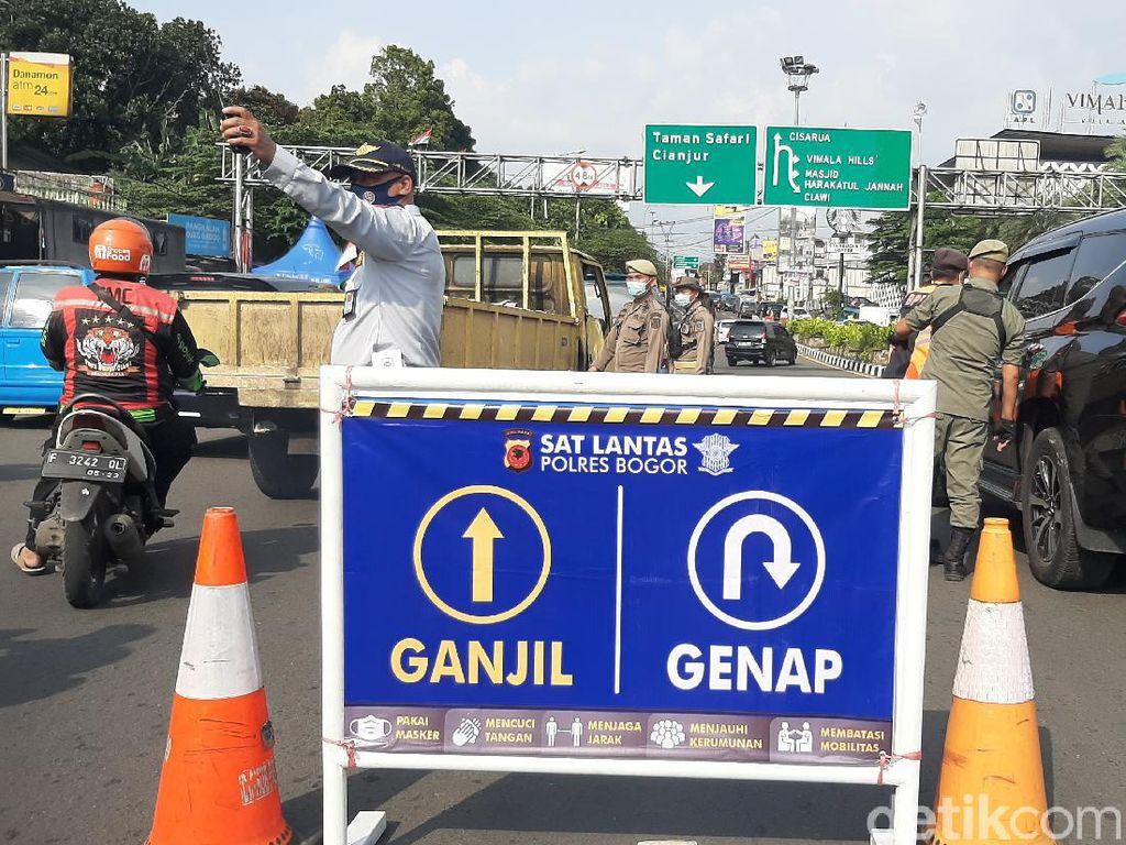 Ganjil Genap di Puncak Bogor Dilanjutkan Akhir Pekan Ini