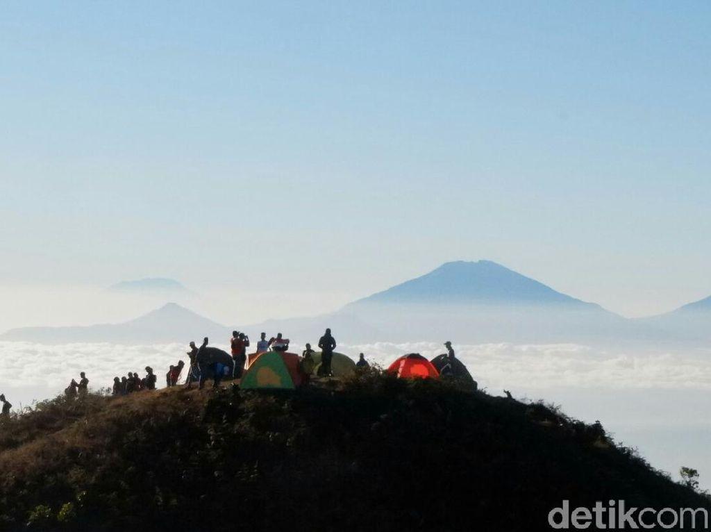 Kabar Gembira untuk Pendaki, Mulai Besok Gunung Prau Dibuka