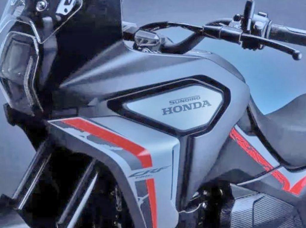 Inikah Penampakan Honda Africa Twin Versi Mini?