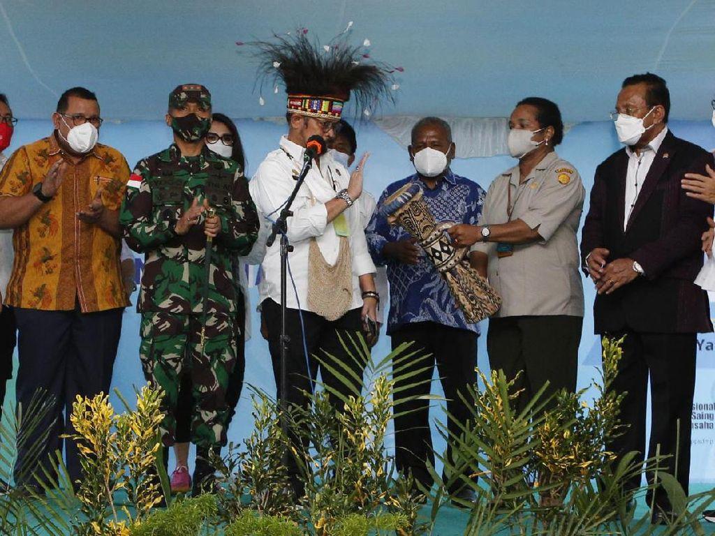 Tingkatkan Sektor Pertanian, Mentan Dorong Papua Cetak SDM Unggul