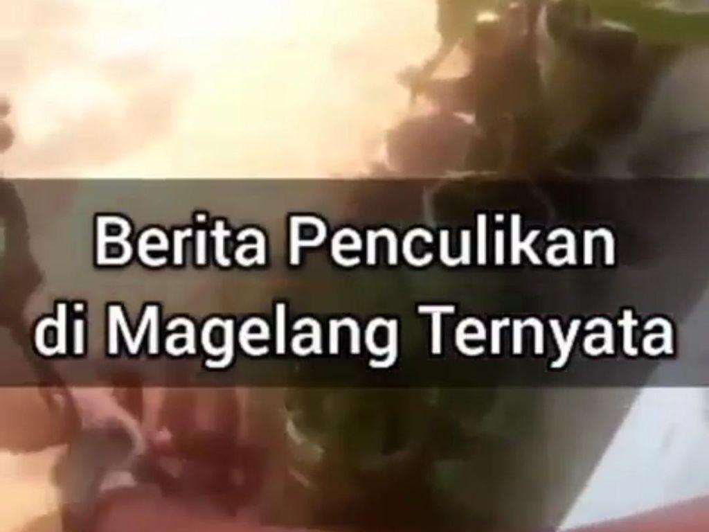 Viral Video Anak Korban Penculikan di Magelang, Ternyata...